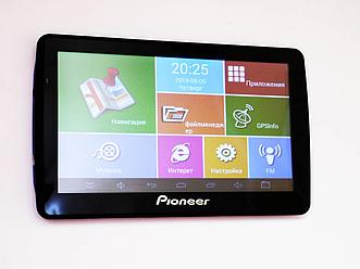 "GPS навигатор 7"" Pioneer 7008 DVR( Bluetooth,Wi Fi MP3, MP4)"