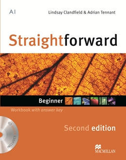 Straightforward Second Edition Beginner Workbook + CD with Key