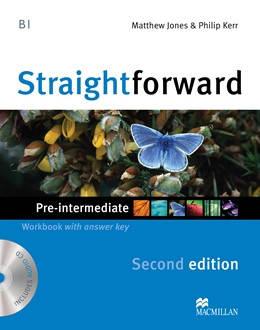 Straightforward Second Edition Pre-intermediate Workbook + CD with Key