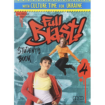 Full Blast! 4 Student's Book Ukrainian Edition