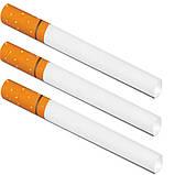 Набор 3 в 1 Сигаретные Гильзы FireBox 500 штук,  Машинка Для Набивки Сигарет, Портсигар на 20 сигарет, фото 3