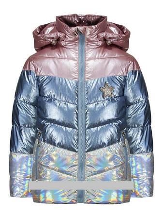 Детская демисезонная куртка для девочки от Baby Moses 507, размеры на рост 80, 86, 92, 98, 104, фото 2