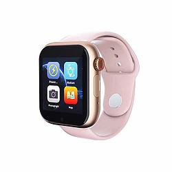 """Умные часы-телефон 1.54"""" с камерой Smart Watch Z6S (розовые)"""