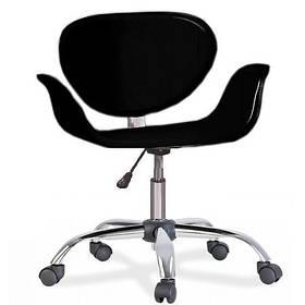Кресло Студио К Кожзам Черный (СДМ мебель-ТМ)
