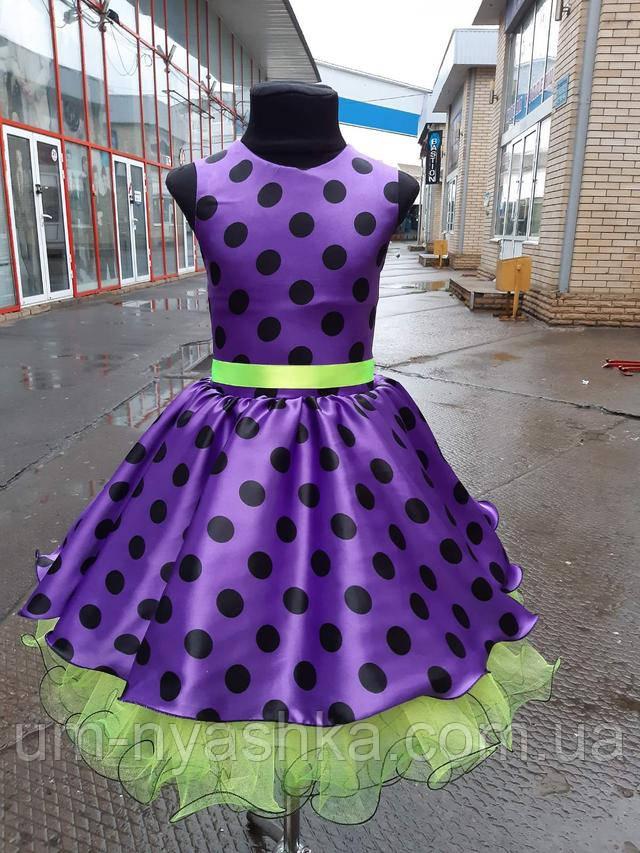нарядное детское платье в стиле ретро