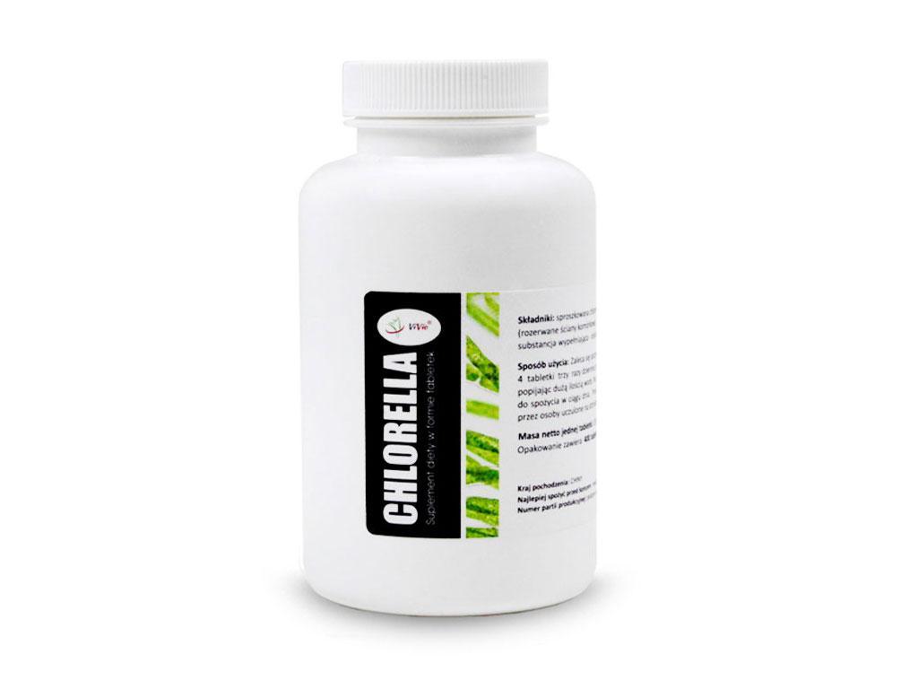 Хлорелла  таблетки 250 мг (1000 таблеток ), Vivio