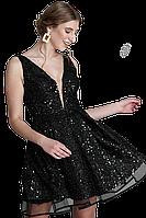 Сукня коктейльна в паєтках, фото 1
