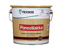 Лак акриловый TEKNOS PANEELILAKKA панельный, полуматовый 2,7л