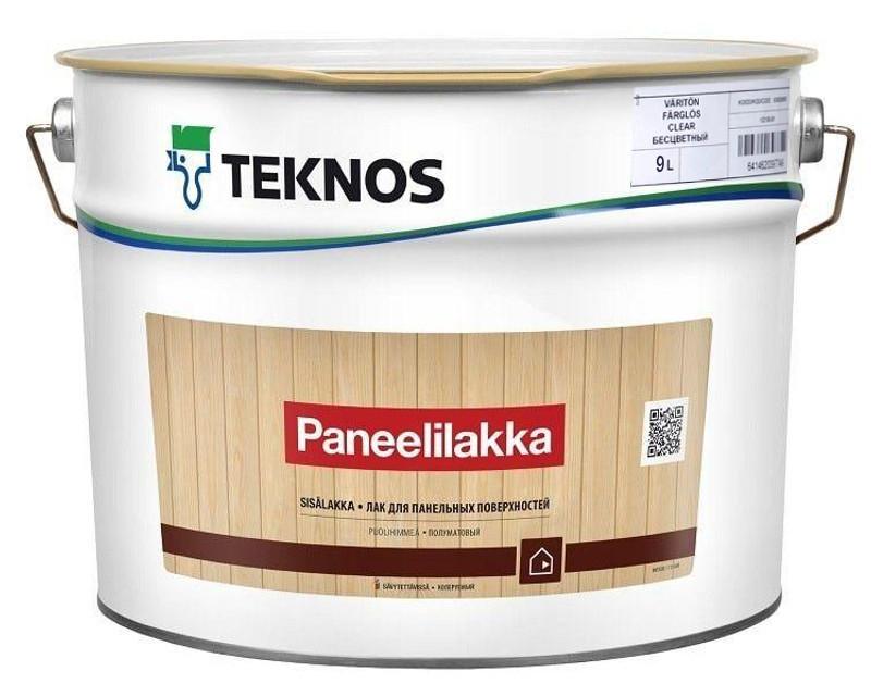 Лак акриловий TEKNOS PANEELILAKKA панельний, напівматовий 9л