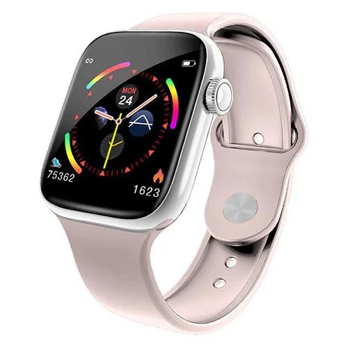 """Умные часы-телефон 1.3"""" с камерой и Bluetooth Smart Watch W4 (розовые)"""