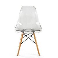 Прозрачный стул SDM Тауэр Вуд-А деревянные ножки