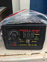 Автомобильное Зарядное устройство с контролем тока и напряжением заряда Искра 6