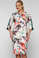Красивое платье для полных девушек Милена
