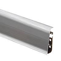 Плинтус пластиковый Cezar Hi-Line Prestige Aluminium матовый  М201