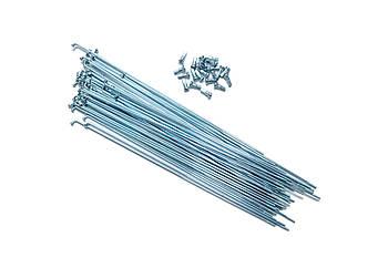 Велосипедные спицы 110мм 14G St UCP 144 штуки с ниппелем в комплекте (SPO-41-01-25)