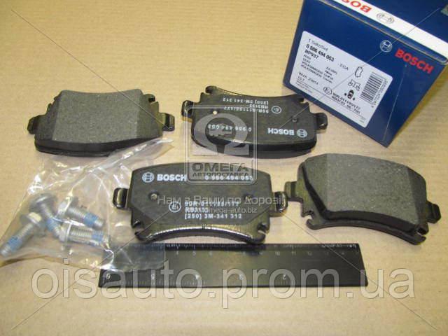 Колодка торм. диск. AUDI Q3, VW PASSAT, TIGUAN задн. (пр-во Bosch)