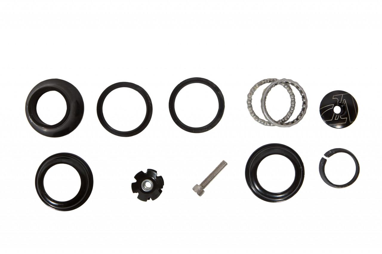 """Рулевая колонка для велосипеда 1-1/8"""" полуинтегрированная VP-Z104PE (HSE-053)"""