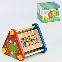 Деревянная обучающая игра Пирамидка C 30385 (8)