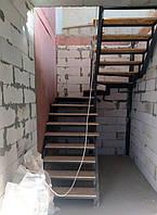 Лестница в квартиру. Каркас лестницы под обшивку деревом и др. материалами., фото 1