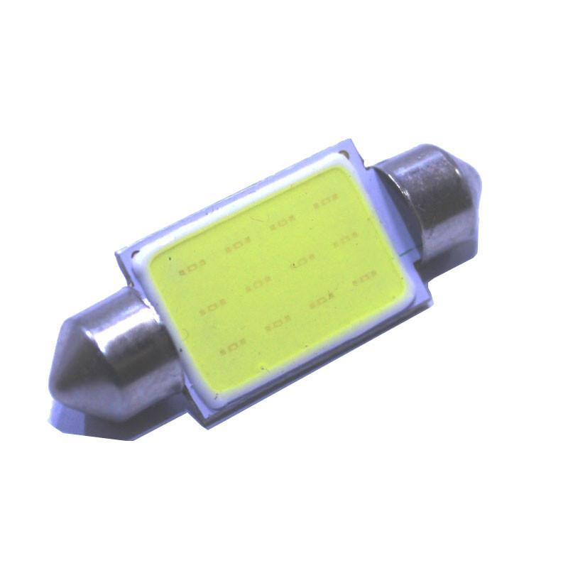 Лампочка автомобільна COB 39мм 12В 3Вт