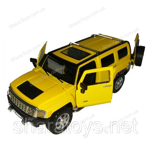 Большая металлическая модель Hummer H3 от Автопром
