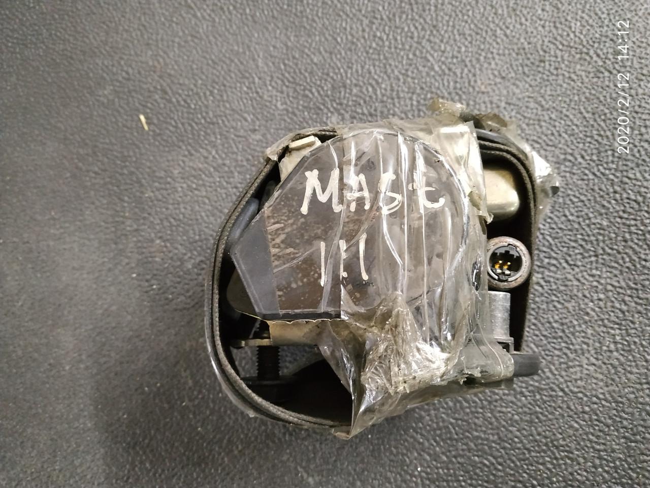 Ремень безопасности Рено Мастер 3 б/у 868840018R