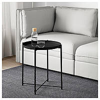 Стол IKEA GLADOM, черный  (504.119.90)