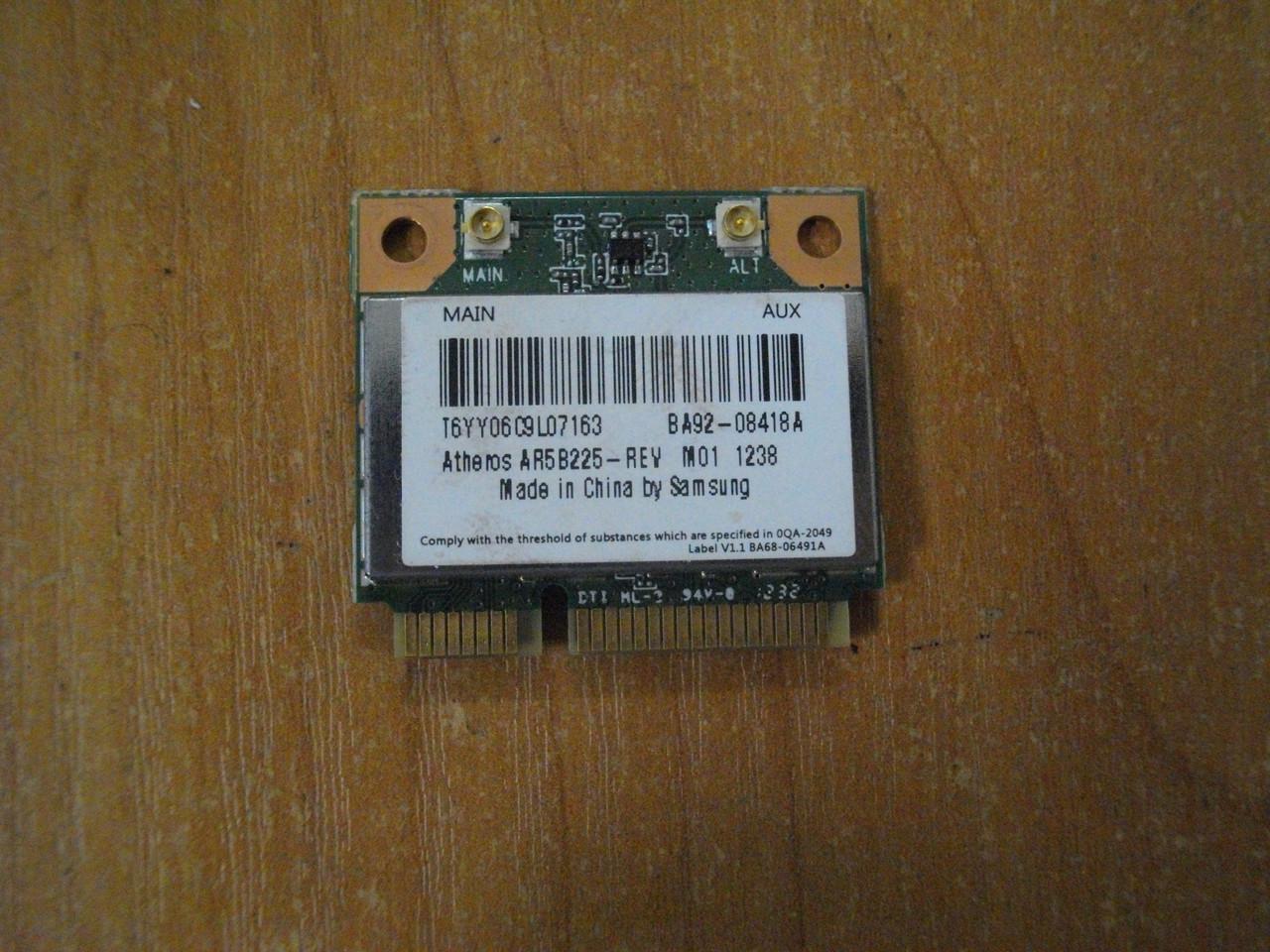 Плата модуль wi-fi AR5B225, BA92-08418A, Samsung NP300E5X БУ
