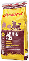 Корм для собак Josera Lamb and Rice 15 кг (4032254743354)