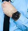 Часы мужские. Мужские наручные часы черного цвета. Часы с черным циферблатом Годинник чоловічий, фото 4