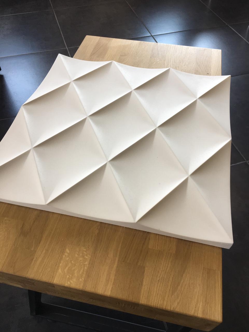 """Гипсовые 3D панели """"Rhombus"""""""