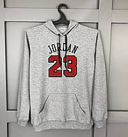 Худи мужское Jordan 23  X grey / кофта весенняя осенняя / ТОП качество, фото 1