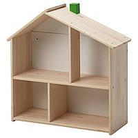 IKEA FLISAT Кукольный домик-полка  (502.907.85)