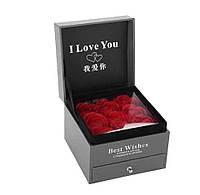 Подарочный набор мыла из роз XY19-49   Подарочное мыло ручной работы