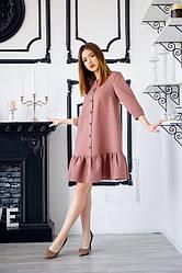 Сукня з замша 1224.4 колір мокко