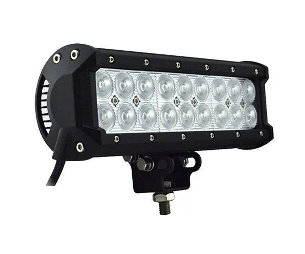 Автофара  (18 LED) 5D-54W spot 6000К  (противотуманка) 6000К (фара на крышу)+ПОДАРОК!