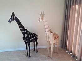 Стеллаж декоративный Жираф