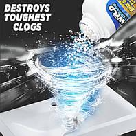 Мощный очиститель для мойки и слива WILD Tornado Sink & Drain Cleaner | Чистящее средство для труб и моек