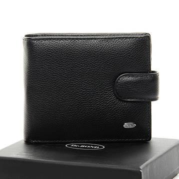 Мужской кошелек Classic кожа DR. BOND MS-28 черный, фото 2