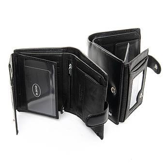 Мужской кошелек Classic кожа DR. BOND MS-30 черный, фото 2