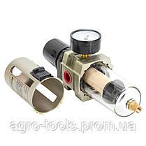 """Фильтр влагоотделитель с редуктором и манометром 4000л/мин 1/2"""" SIGMA REFINE (7034171), фото 3"""