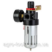 """Фильтр влагоотделитель с редуктором и манометром 1200л/мин 1/2"""" SIGMA (7034461), фото 3"""