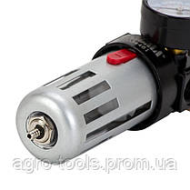 """Фильтр влагоотделитель с редуктором и манометром 1200л/мин 1/2"""" SIGMA (7034461), фото 2"""