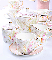 Порцеляновий чайний сервіз на 6 персон Луїза 264-700