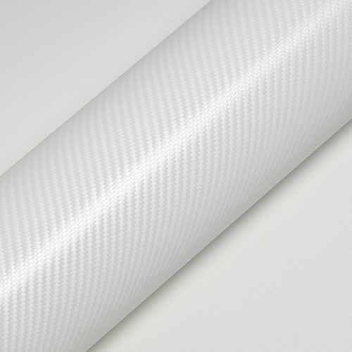 Hexis Skintac HX30CA003B Glacier White Carbon Gloss - белая карбоновая пленка 1.524 м