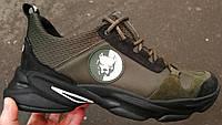 Жесть !! Pit bull чоловічі шкіряні кросівки весна літо осінь піт буль хакі