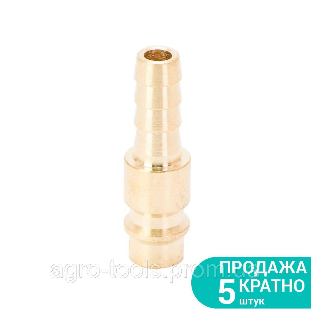Штуцер для шланга 8мм (латунь) SIGMA (7022581)