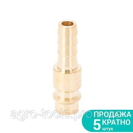Штуцер для шланга 8мм (латунь) SIGMA (7022581), фото 2