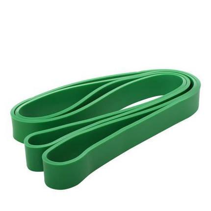 Спортивный эспандер MS 2235-3 лента силовая 208-2,9-0,45 см зеленый, фото 2