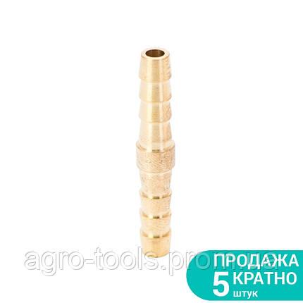 Соединение для шланга I 6мм (латунь) SIGMA (7023821), фото 2